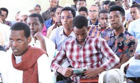 Ceremony for welcoming the new students of Kismayo University 2021-2022
